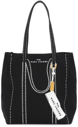 Marc Jacobs Tag Small canvas tote