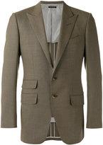 Tom Ford classic blazer - men - Silk/Cupro/Wool - 46