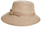 Eric Javits Women's Squishee Straw Cap - Brown
