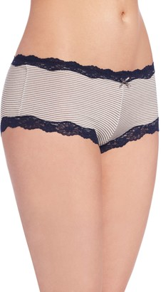 Maidenform Women's Modal Cheeky Hipster with Lace Panty