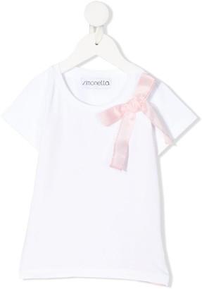 Simonetta ribbon short sleeve T-shirt
