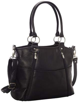Le Donne Leather Nevington Convertible SatchelHandbag