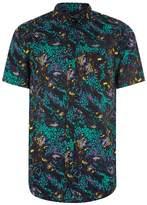 Topman Multicoloured Neon Baroque Shirt