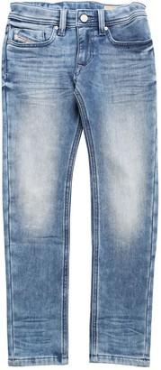 Diesel Cotton Denim Effect Jeans