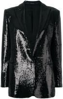 Tagliatore sequin embellished blazer
