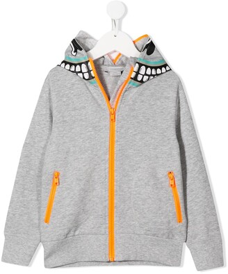 Stella McCartney Kids Zipped Hoodie