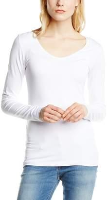 Queen Mum Women's vi/ly Basics Shirt ls vn Maternity