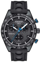 Tissot Men's Prs516 Chronograph Rubber Strap Watch, 42Mm