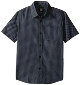 Volcom Everett Mini Check Short Sleeve Shirt (Big Kids)