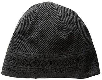 Dale of Norway Harald Hat (F-Black Melange/Dark Charcoal Melange) Caps
