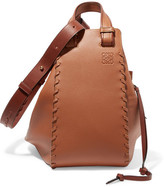 Loewe Hammock Large Textured-leather Tote - Tan