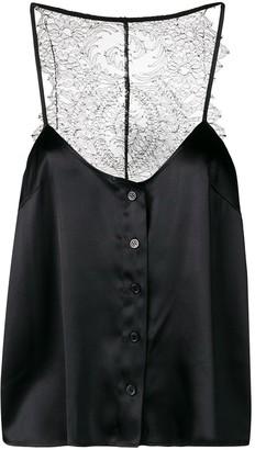 Almaz lace back top