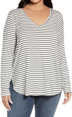 Halogen Stripe Tunic