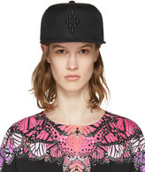 Marcelo Burlon County of Milan Black Starter Edition Cruz Cap
