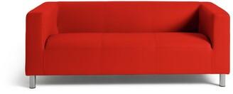 Argos Home Moda 3 Seater Faux Leather Sofa