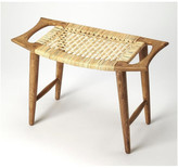 Butler Specialty Company Tristan Natural Wood & Rattan Stool