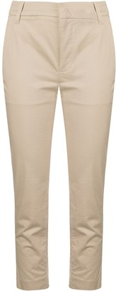 Vince Cropped Skinny-Fit Trousers