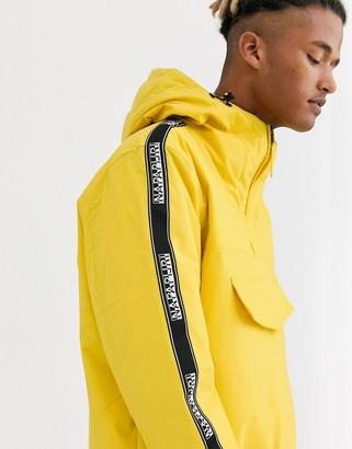 Napapijri rainforest tape yellow jacket