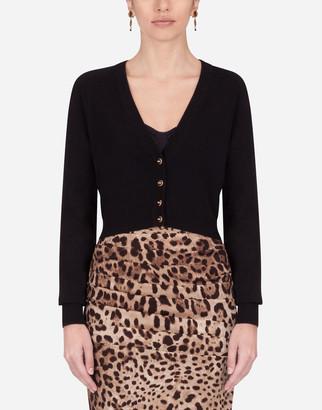 Dolce & Gabbana Short Cashmere Cardigan