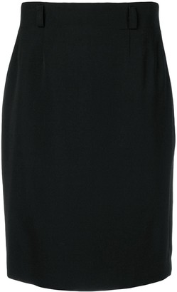 Jean Louis Scherrer Pre-Owned classic pencil skirt
