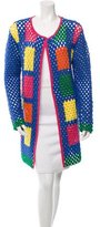 Mira Mikati Wool Crochet Coat w/ Tags