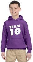 Allntrends Kids Youth Hoodie Team 10 Cool Trendy Tshirt Hot Top (L, )