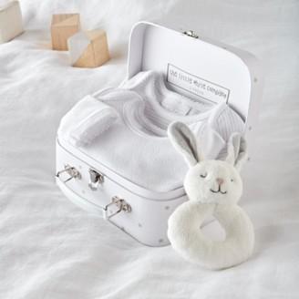 The White Company Bodysuit Baby Gift Set, White, 0-3mths