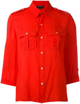 Vanessa Seward military shirt - women - Viscose - 40