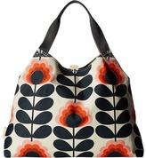 Orla Kiely Summer Flower Stem Large Holdall Handbags