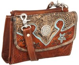 American West Texas 2 Step Grab-and-Go Combination Bag Shoulder Handbags