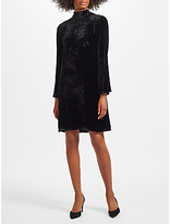 Marc Cain Velvet Swing Dress, Black