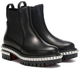 Christian Louboutin By The River leather ankle boots