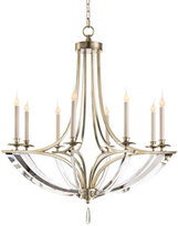 John-Richard Collection Bent 8-Light Crystal Chandelier