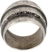 Tobias Wistisen encrusted detailed ring