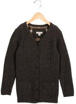 Burberry Girls' Wool-Blend V-Neck Cardigan w/ Tags