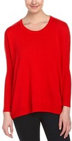 Joan Vass Wool & Cashmere Sweater.