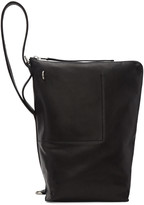 Rick Owens Black Bucket Bag