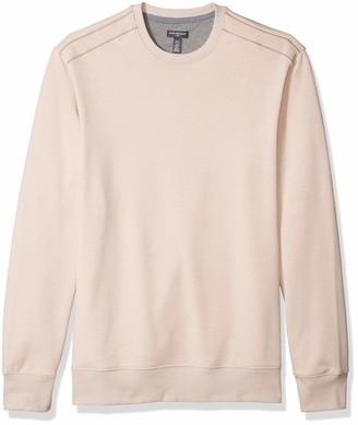 Van Heusen Men's Big and Tall Flex Sweater Fleece Crewneck Pullover Sweatshirt
