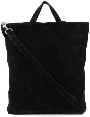 Ann Demeulemeester Textured Shoulder Strap Detail Tote Bag