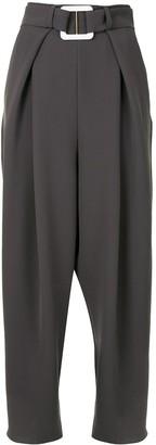 Edeline Lee Plait wide-leg trousers