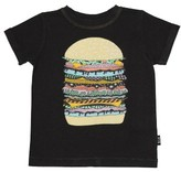Rock Your Baby Infant Boy's Cosmic Burger T-Shirt