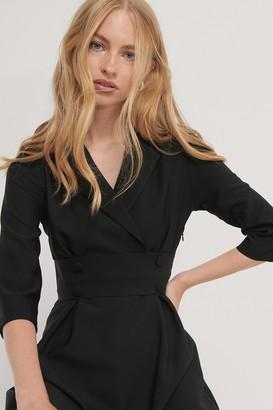 Trendyol Front Button Detailed Mini Dress