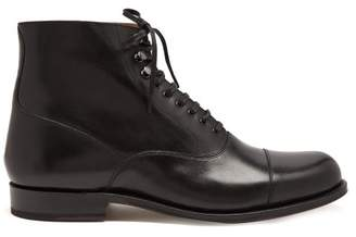 Grenson Leander Leather Boots - Mens - Black