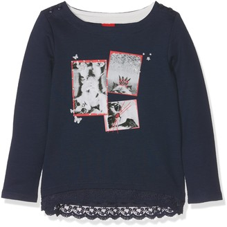 S'Oliver Girl's 53.708.41.5223 Sweatshirt