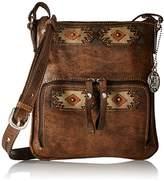 American West Women's Native Sun Crossbody Bag - 9083493