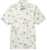 Jil Sander - Floral-print Voile Shirt