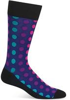 Hot Sox Multicolored Dots Socks