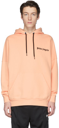 Palm Angels Pink New Basic Hoodie