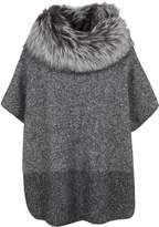 Fabiana Filippi Textured Poncho Sweater