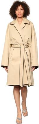 Balenciaga Water Repellent Cocoon Midi Coat